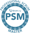 Professional Scrum Master certified